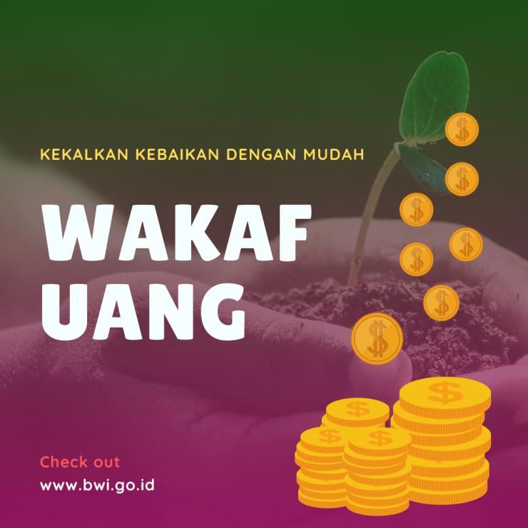 Wakaf Uang wakaf uang - Wakaf Uang 740x740 - Cara Mudah Wakaf Uang