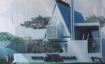 - masjid darussalam - Masjid Jamie Darussalam: Menjadi Produktif Setelah Diruislag