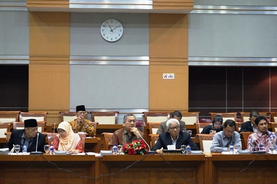 - dsc01697e - Komisi VIII Dukung Penguatan Kelembagaan BWI