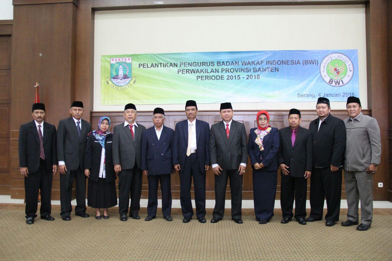 Pengurus Perwakilan BWI Banten 2015 - 2018  - pelantikan bwi banten - Perwakilan BWI Banten Siap Hadapi Tantangan