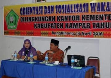 Nazhir dan Lembaga Wakaf Ujung Tombak Pengelolan Wakaf