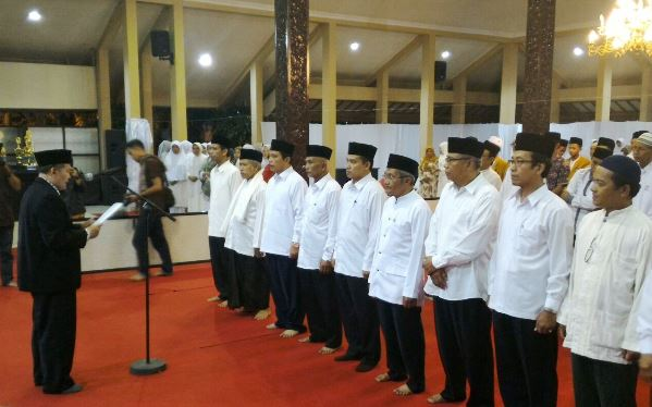 - pelantikan bwi bondowoso - BWI Jatim Lantik Pengurus BWI Kabupaten Bondowoso