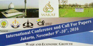 - konferensi internasional wakaf bwi trisakti 2016 - BWI – Universitas Trisakti Selenggarakan Konferensi Internasional Wakaf