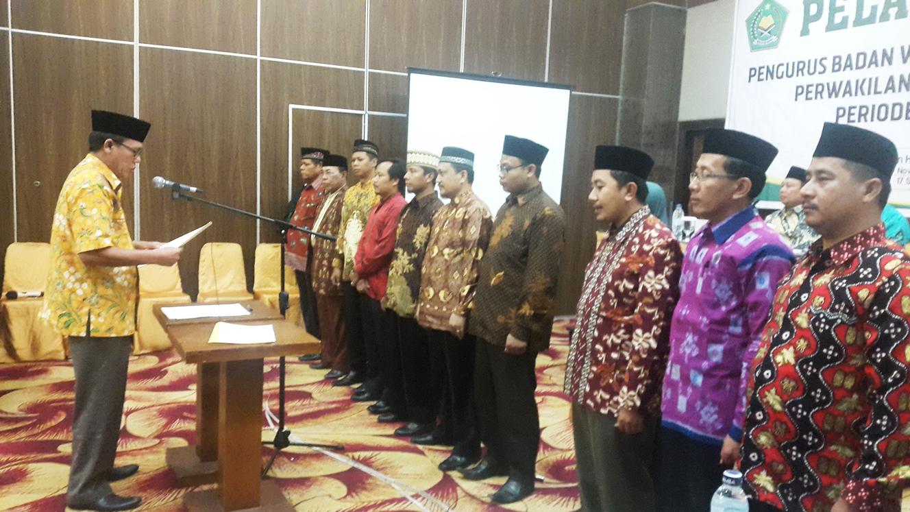 - 2016 november 17 pelantikan bwi papua - BWI Provinsi Papua Harus Gairahkan Wakaf di Papua