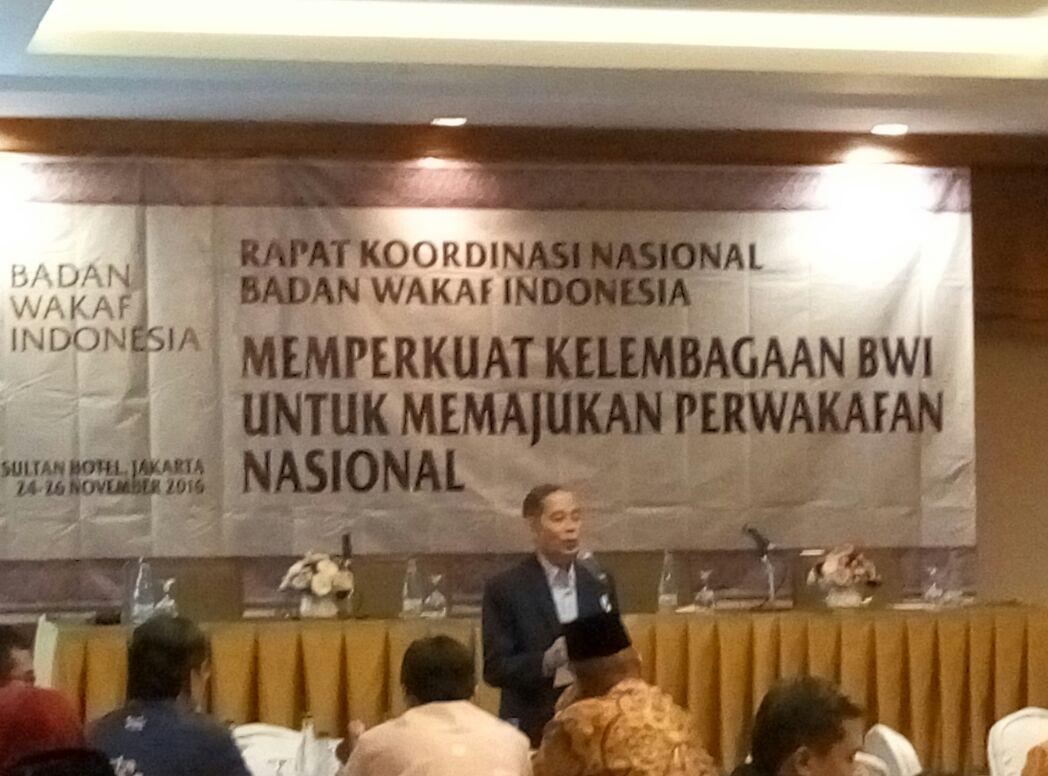 - bwi adakan rakornas wakaf - BWI Selenggarakan Rapat Koordinasi Nasional 2016