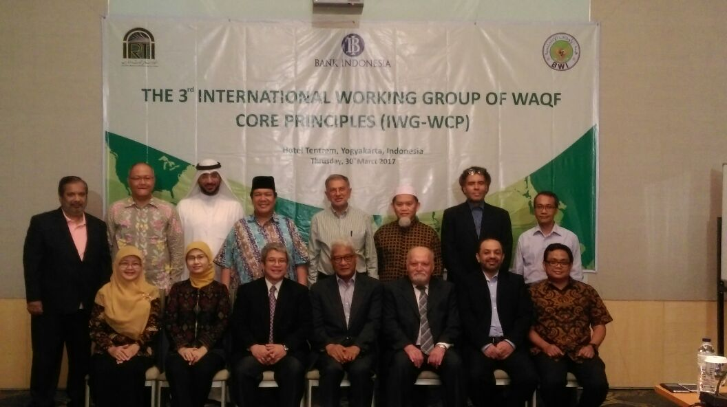 - 2017 working group wcp - BI-IRTI-BWI Matangkan Waqf Core Principles