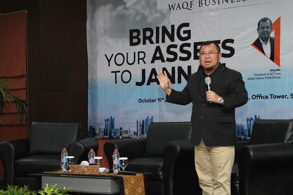 - waqf business forum - Forum Bisnis Wakaf Ajak Perusahan Wakaf Saham