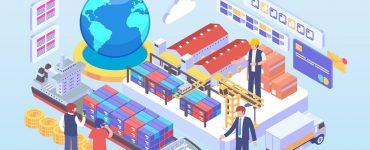Tiga Pilar Ekonomi Islam  - Ilustrasi Perdagangan Internasional 370x150 - Ekspor dan Ekonomi Islam