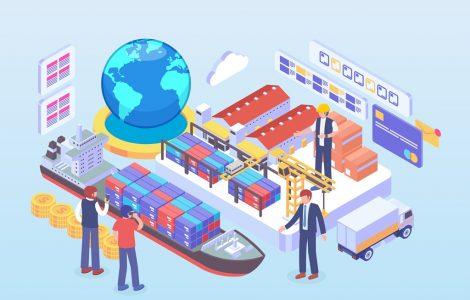 Tiga Pilar Ekonomi Islam  - Ilustrasi Perdagangan Internasional 470x300 - Ekspor dan Ekonomi Islam