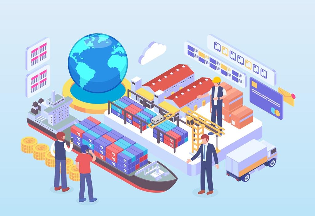 Ekspor dan Ekonomi Islam  - Ilustrasi Perdagangan Internasional - Ekspor dan Ekonomi Islam