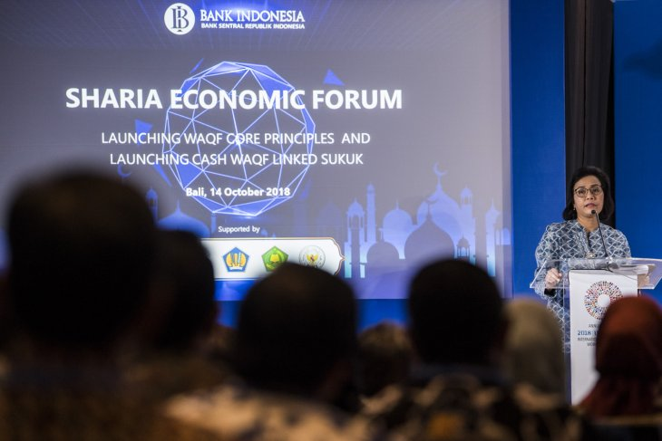 - launching bwi wakaf linked sukuk dan waqf core principles - Indonesia Luncurkan Waqf Core Principles dan Waql Linked Sukuk di Forum IMF-Bank Dunia