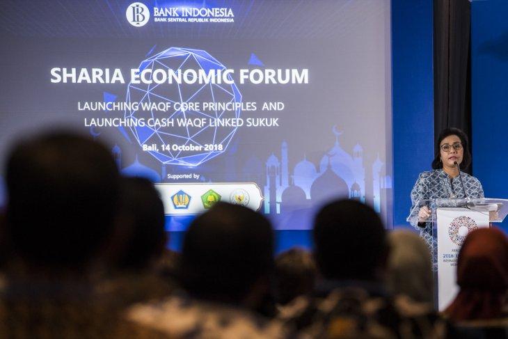 Indonesia Luncurkan Waqf Core Principles dan Waql Linked Sukuk di Forum IMF-Bank Dunia  - launching bwi wakaf linked sukuk dan waqf core principles - Indonesia Luncurkan Waqf Core Principles dan Waql Linked Sukuk di Forum IMF-Bank Dunia
