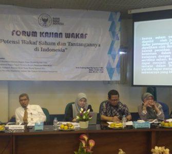 Forum Kajian wakaf BWI  - Forum Kajian wakaf BWI 335x300 - Potensi Wakaf Saham Dan Tantangannya di Indonesia