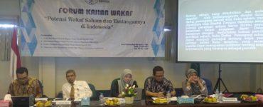 Forum Kajian wakaf BWI  - Forum Kajian wakaf BWI 370x150 - Potensi Wakaf Saham Dan Tantangannya di Indonesia