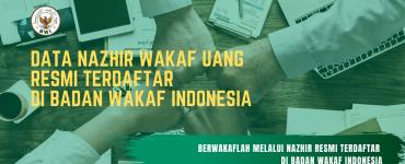 DATA NAZHIR WAKAF UANG TERDAFTAR DI BADAN WAKAF INDONESIA  - DATA NAZHIR WAKAF UANG TERDAFTAR DI BADAN WAKAF INDONESIA 370x150 - Daftar Nazhir Wakaf Uang – Update Oktober 2019