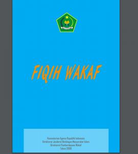 Fiqih Wakaf fiqih wakaf - Fiqih Wakaf 270x300 - Fiqih Wakaf – Bimas Kemenag RI