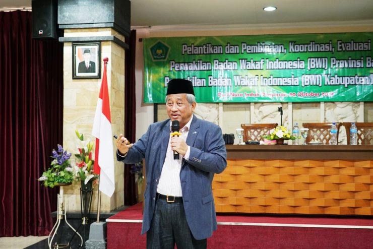 Prof. Dr. Nuh Arahkan Kerukunan Dalam Mengelola BWI  - Prof - Prof. Dr. Nuh Arahkan Kerukunan Dalam Mengelola BWI