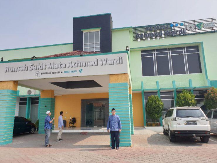 Mengenal Lebih Dekat Rumah Sakit Mata Berbasis Wakaf Pertama di Dunia  - Rumah sakit mata achmad wardi 740x555 - Mengenal Lebih Dekat Rumah Sakit Mata Berbasis Wakaf Pertama di Dunia