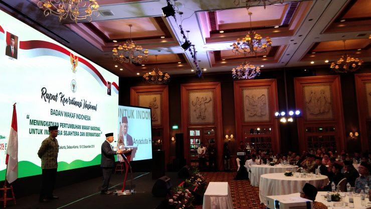Wakil Presiden RI Buka Acara Rakornas Badan Wakaf Indonesia  - IMG 20191210 2006381 740x416 - Wakil Presiden RI Buka Acara Rakornas Badan Wakaf Indonesia