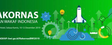 Badan Wakaf Indonesia Gelar Rakornas 2019  - Rakornas BWI2019 370x150 - Nilai Strategis Rakornas BWI 2019
