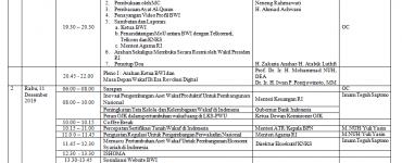 Susunan Acara Rakornas Badan Wakaf Indonesia 2019  - Susunan Acara Rakornas Badan Wakaf Indonesia 2019 370x150 - Susuna Acara Rakornas BADAN WAKAF INDONESIA 2019