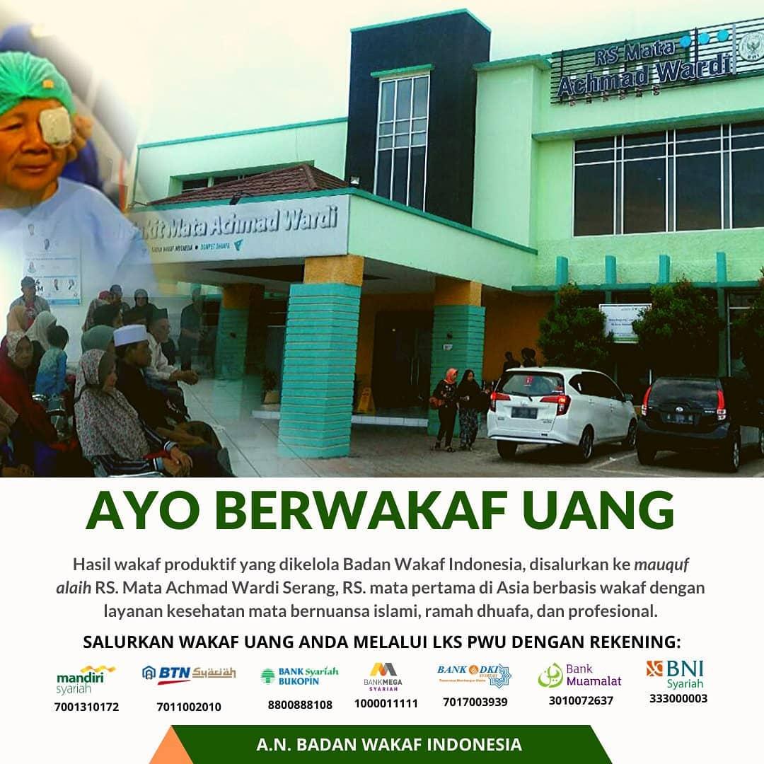 Ayo Berwakaf Uang ke Badan Wakaf Indonesia