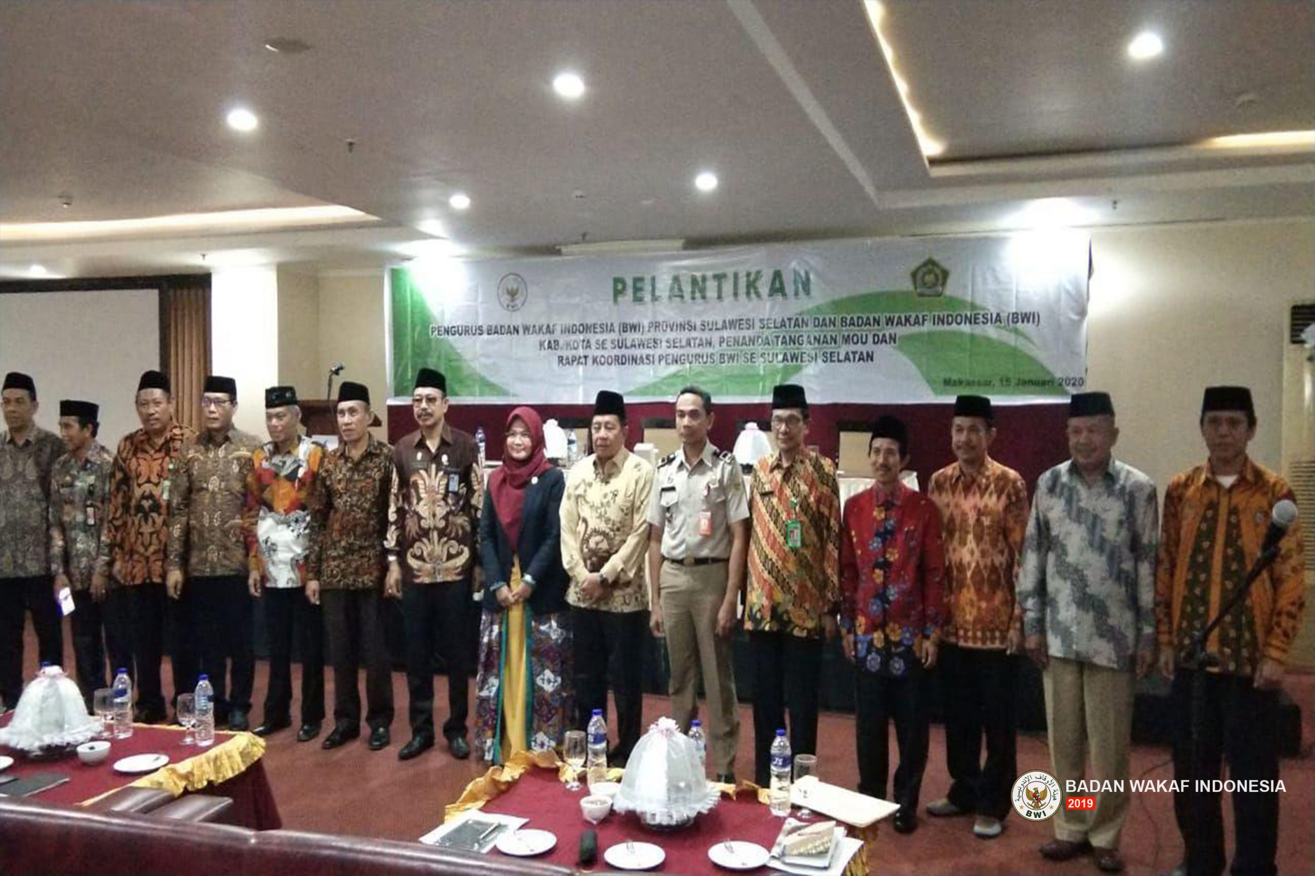 Wakil Ketua BWI Lantik Pengurus Perwakilan Provinsi Sulawesi Selatan Periode 2020-2023  - Wakil Ketua BWI Lantik Pengurus Perwakilan Provinsi Sulawesi Selatan Periode 2020 2023 scaled - Wakil Ketua BWI Lantik Pengurus Perwakilan Provinsi Sulawesi Selatan Periode 2020-2023