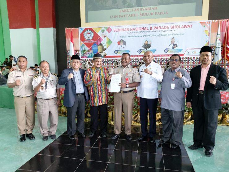 Perwakilan BWI Papua Teken Kerjasama dengan Kanwil BPN Papua  - IMG 20200311 WA0029 740x555 - Percepatan Sertifikasi Tanah Wakaf, Perwakilan BWI dan Kanwil BPN Papua Teken MoU