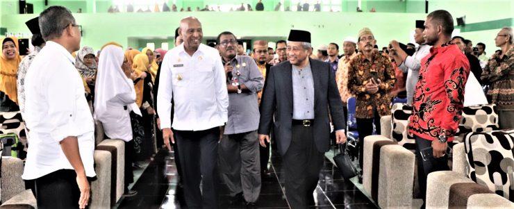 Prof. Mohammad Nuh Wakaf Bisa untuk Kesejahteraan Umat  - Prof - Prof. Mohammad Nuh Ajak Mahasiswa Budayakan Berwakaf Setiap Jumat