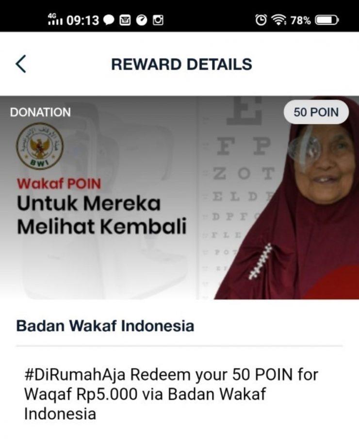 BWI Terbitkan Program Wakaf Poin  - Wah Ada Wakaf Poin di Telkomsel Gimana Caranya 2 740x904 - BWI Luncurkan  Program Wakaf Poin