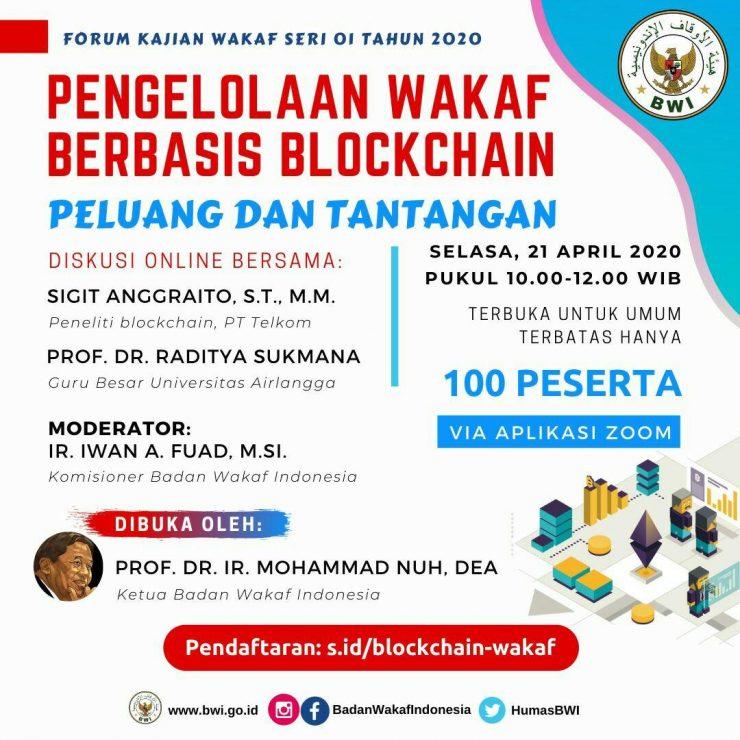 - BWI Jajaki Penggunaan Blockchain Dalam Perwakafan Nasional 740x740 - BWI Jajaki Penggunaan Blockchain Dalam Perwakafan Nasional