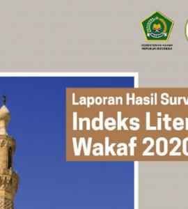 Laporan Hasil Survey Indeks Literasi Wakaf 2020  - Laporan Hasil Survey Indeks Literasi Wakaf 2020 1 270x300 - Laporan Hasil Survey Indeks Literasi Wakaf Nasional Tahun 2020