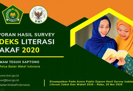 laporan Indeks Literasi Wakaf  - laporan Indek Literasi Wakaf 435x300 - Laporan Indeks Literasi Wakaf Indonesia Tahun 2020