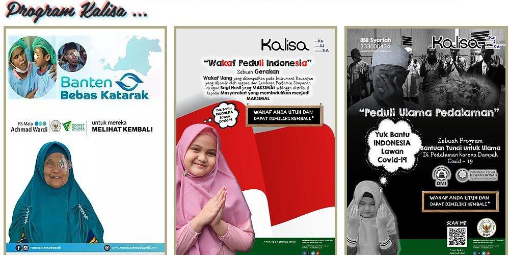 Apa Itu Wakaf Peduli Indonesia (KALISA)?  - Apa Itu Wakaf Peduli Indonesia KALISA 999x500 - BWI akan Luncurkan Program Wakaf untuk Bantu Tanggulangi Covid-19