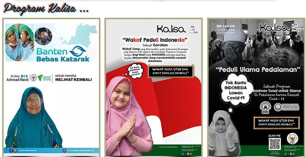 BWI akan Luncurkan Program Wakaf untuk Bantu Tanggulangi Covid-19  - Apa Itu Wakaf Peduli Indonesia KALISA - BWI akan Luncurkan Program Wakaf untuk Bantu Tanggulangi Covid-19