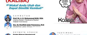 Badan Wakaf Indonesia Siap Gelar Soft Launching KALISA 2020  - Launching Kalisa 370x150 - Badan Wakaf Indonesia Siap Gelar Soft Launching Kalisa  2020