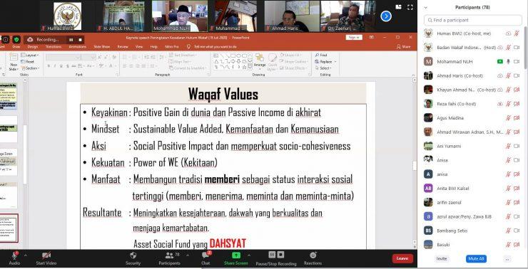 Penyuluhan Hukum Wakaf  - Penyuluha Hukum Wakaf 740x378 - Badan Wakaf Indonesia Menggelar Penyuluhan Hukum Wakaf untuk Pengembangan Wakaf
