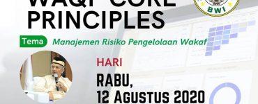 - Ngaji Online WCP sesi8 370x150 - Materi Waqf Core Principles #Seri 4: Manajemen Risiko Pengelolaan Wakaf