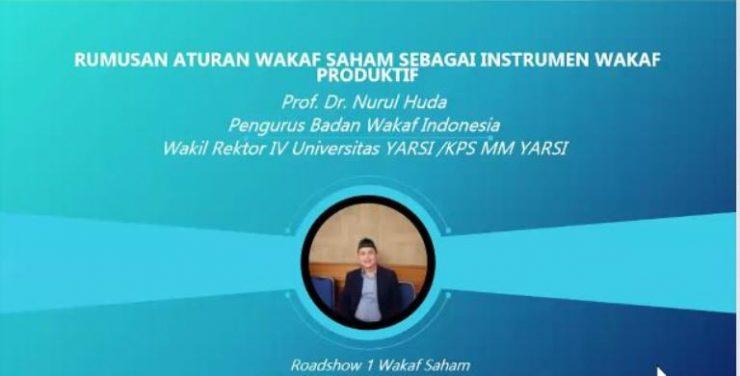 - Rumusan Wakaf saham 740x376 - Materi Rumusan Aturan Wakaf Saham Sebagai Instrumen Wakaf Produktif