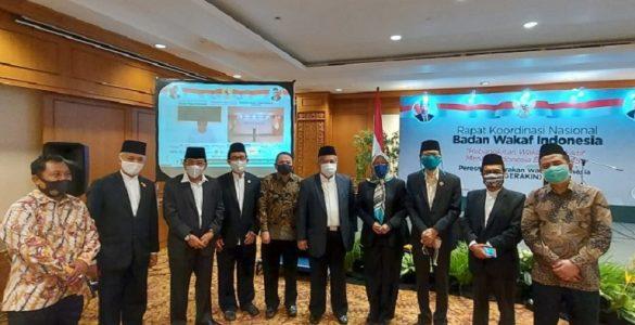 BWI Gelar Rakornas dan Luncurkan Gerakan Wakaf Indonesia  - BWI Gelar Rakornas dan Luncurkan Gerakan Wakaf Indonesia 1 585x300 - Materi Rakornas Badan Wakaf Indonesia 2020