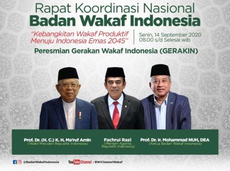 Rakornas BWI 2020  - Rakornas 2020 jpeg 2 740x549 - BWI Akan Luncurkan Gerakan Wakaf Indonesia Pada Rakornas 2020