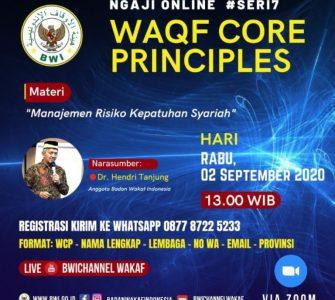 Event – Ngaji Online WCP Seri #7 : Manajemen Risiko Kepatuhan Syariah  - WCP Seri 7 1 335x300 - Event – Ngaji Online WCP #Seri7 : Manajemen Risiko Kepatuhan Syariah