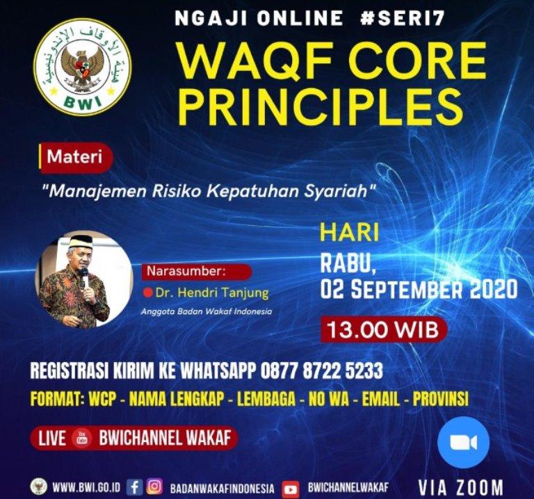 Event – Ngaji Online WCP #Seri7 : Manajemen Risiko Kepatuhan Syariah  - WCP Seri 7 1 - Event – Ngaji Online WCP #Seri7 : Manajemen Risiko Kepatuhan Syariah