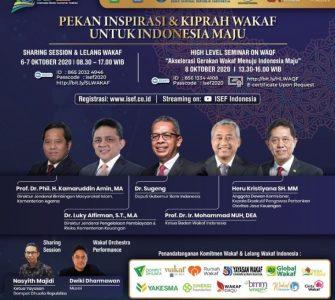 ISEF 2020  - IMG 20201006 WA0015 1 335x300 - Pekan Inspirasi & Kiprah Wakaf untuk Indonesia Maju