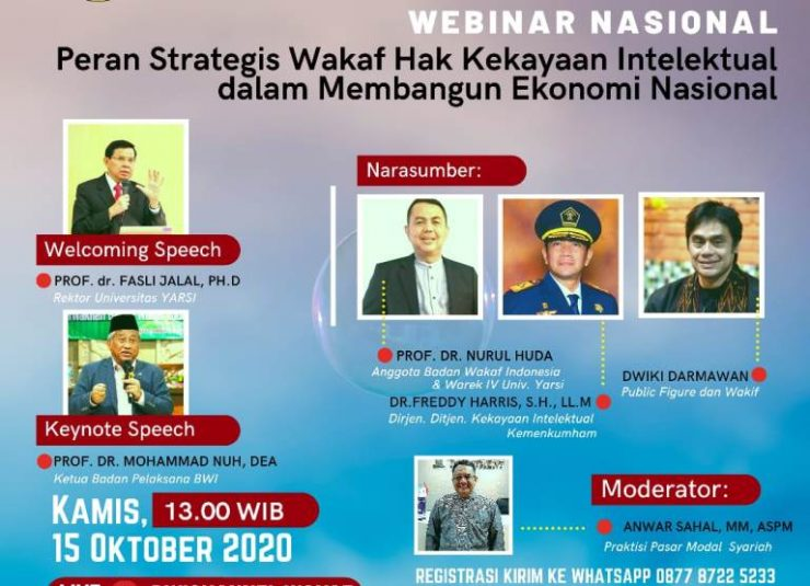 - Wakaf Haki 740x535 - Materi Webinar Nasional Wakaf Haki