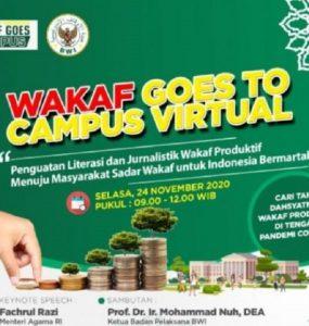 - Badan Wakaf Indonesia Gelar WGTC Virtual 285x300 - Materi Wakaf Goes TO Campus Virtual 2020