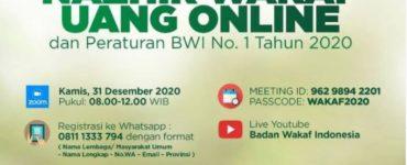 - Materi Sosialisasi Pendaftaran Nazhir Wakaf Uang Online 370x150 - Materi Sosialisasi Pendaftaran Nazhir Wakaf Uang Online dan Peraturan BWI No.1 Tahun 2020