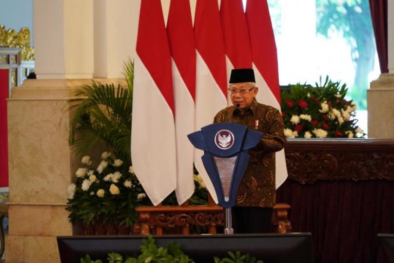 Wapres Minta Nazhir Wakaf Dibenahi  - Tandai Transformasi Wakaf Modern di Indonesia Peresmian Gerakana Nasional Wakaf Uang Digelar - Wapres Minta Nazhir Wakaf Dibenahi