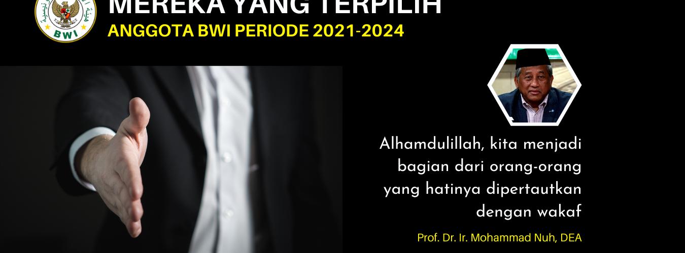 25 Anggota Badan Wakaf Indonesia Periode 2021-2024