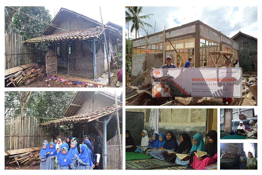 Dana Wakaf Bantu Perbaiki  Madrasah Nurul Fikri  yang Hampir Roboh  - Madrasah Nurul Fikri Featured - Dana Wakaf Bantu Perbaiki  Madrasah Nurul Fikri  yang Hampir Roboh